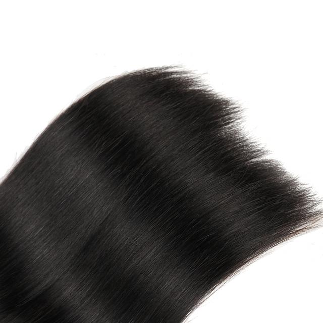 "8-28"" Straight Human Hair Weave Bundle"