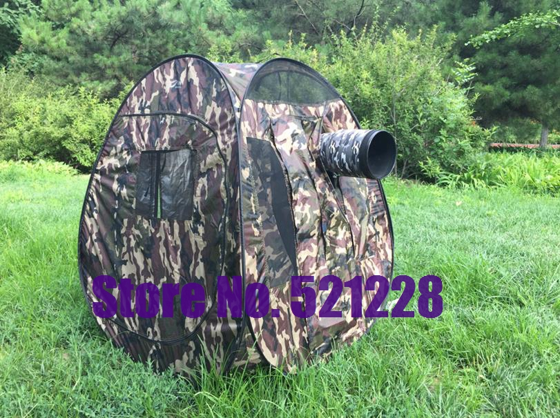 Camouflage Pop Up Automatic Quick Open Shower Tent