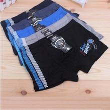 5 Pcs Lot Bamboo Fiber Juvenile Underwear Man Adults Sports Boys Shorts Panties Kids Boxer Briefs