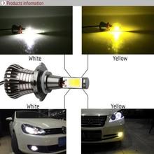 Auto LED H1 Fog Light for hyundai sonata Car Lamp H7 Bulbs H11 H16 Dual Color led 881 9005 Lights 2 colors