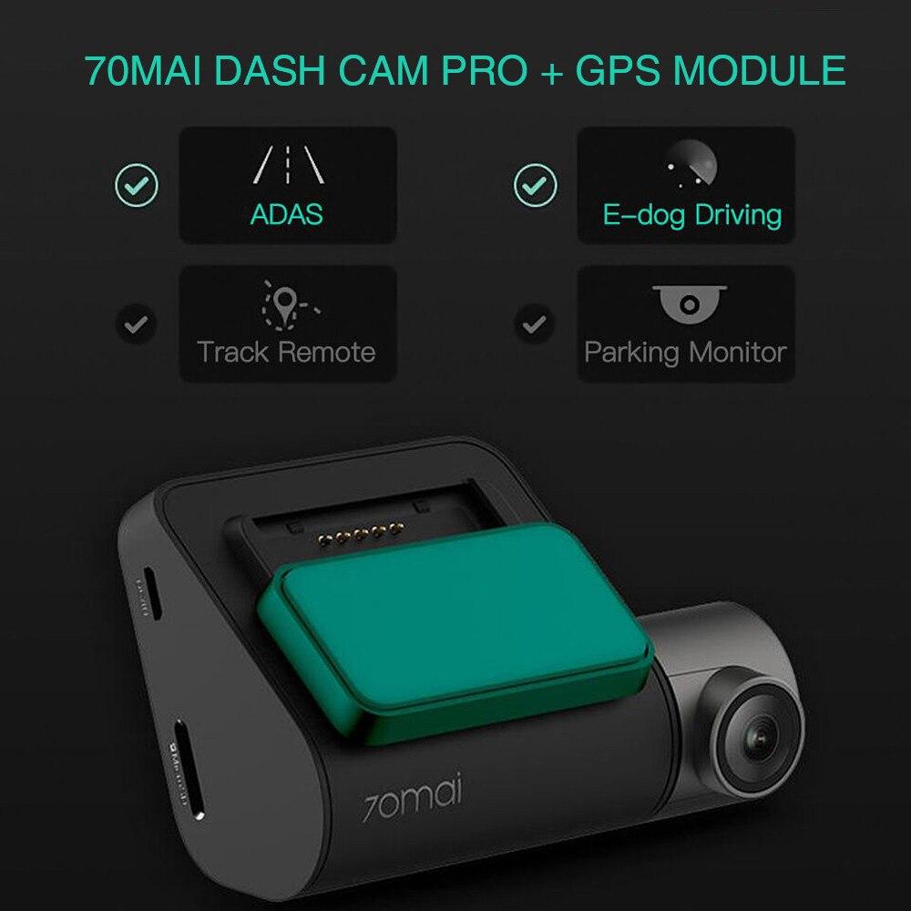 70mai Dash Cam Pro DVR Автомобильный 1944P Full HD видео сфотографировать Автомобиль Запись зеркало заднего вида камера монитор парковки система LDW
