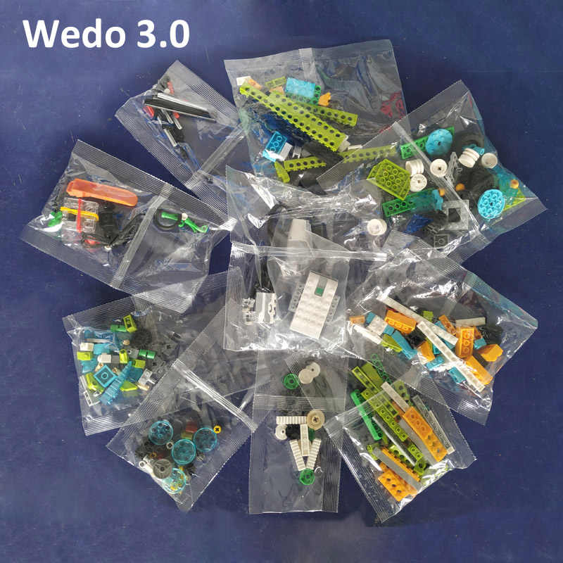 NEW WeDo 3.0 Technic Robotics Construction Set Compatible with Wedo 2.0 Educational and Dacta Seires Building Blocks Toy