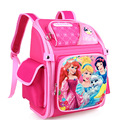 2016 New Girls Princess Cartoon Schoolbags Boy Kids Satchel School Backpack EVA Waterproof Children School Bags Mochila Infantil