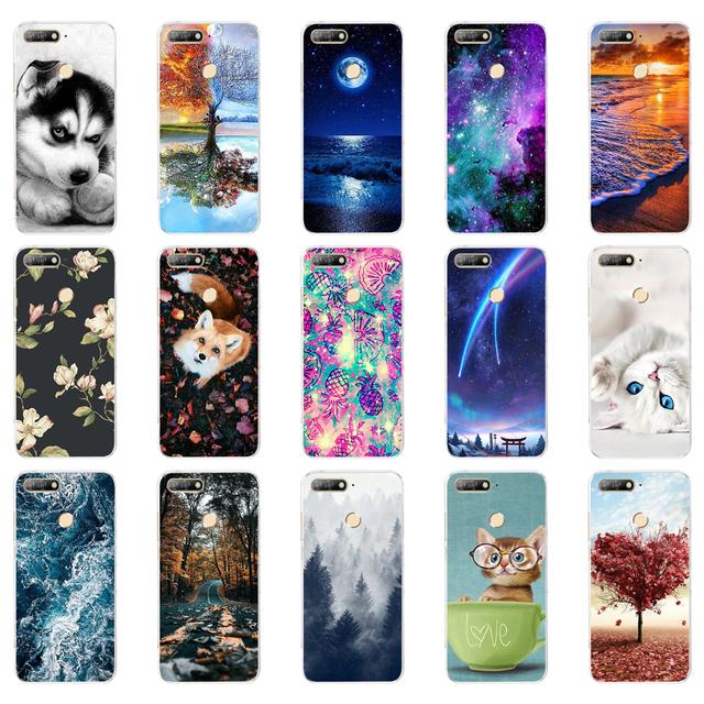 Funda de silicona  para Huawei Honor