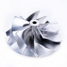 Kinugawa Turbo Roda Do Compressor Boleto 50.39/60mm 5 + 5 para KKK K03 K04