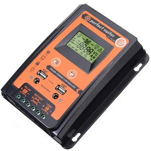 Image 4 - 12V/24V 30A Durable Solar Charge Controller Dual USB LCD Display Solar Panel Battery Regulator PWM Solar Controller