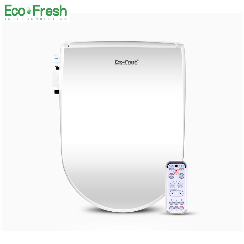 EcoFresh Smart toilet seat Electric Bidet cover intelligent bidet heat clean dry Massage care for child