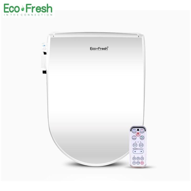 EcoFresh siège de toilette intelligent couverture de Bidet électrique bidet intelligent chaleur propre Massage à sec soin pour enfant femme le vieux