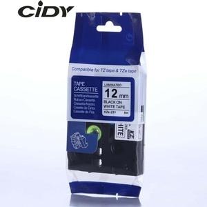 Image 2 - CIDY Compatible laminated tze 231 tz231  tze231 12mm Black on white Tape tze 231 tz 231 for brother p touch printer tze 131