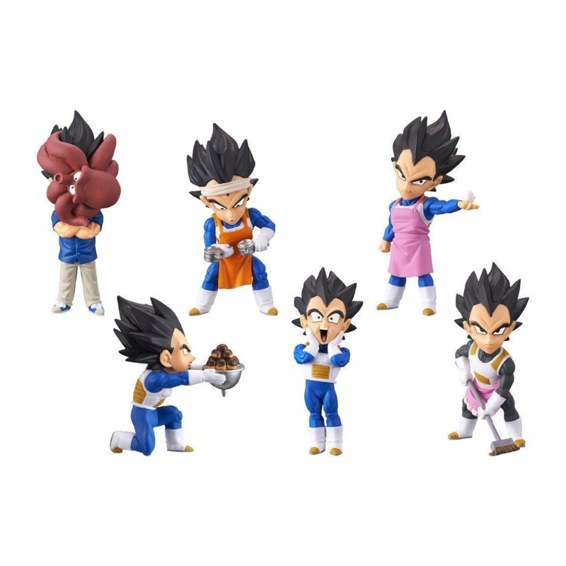Dragon Ball Super Z World Collectable Figure WCF Doll PRINCE VEGETA Full set 100% Original classic world конструктор super builder set