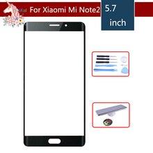 10pcs/lot Original TouchScreen 5.7 For Xiaomi Mi Note 2 Note2 Glass Digitizer Front Outer Panel Lens Replacement Repair Part