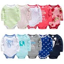 Детская одежда для новорожденных комбинезон с длинными рукавами, 5 шт./лот для малышей мальчиков и девочек, детский Снежный костюм, детский комбинезон, костюм Cloing в китайском стиле Bebes
