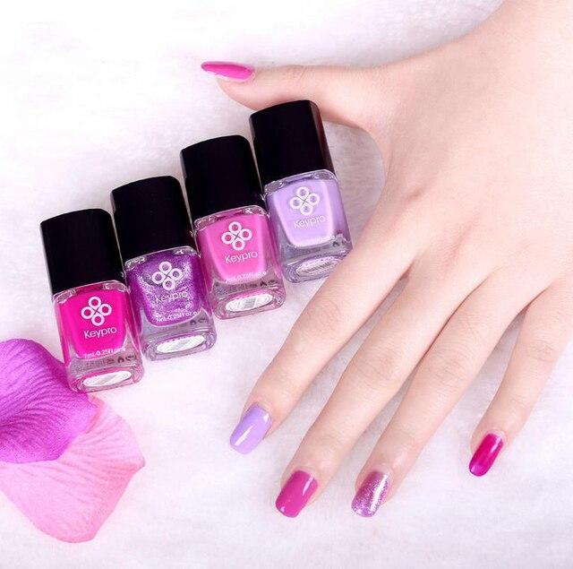 Dulces Colores de Perlas de Color Rosa Esmalte de Uñas Brillo ...