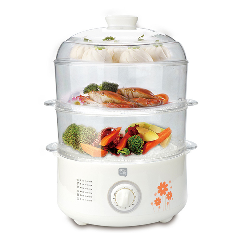 Multifunctional Electric Steamer Home Electric Steamer Three Layers of Large Capacity Timing Steamed Steamed Bread HotpotMultifunctional Electric Steamer Home Electric Steamer Three Layers of Large Capacity Timing Steamed Steamed Bread Hotpot