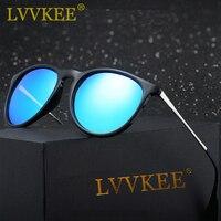 LVVKEE Cat Eye Polarized Sunglasses Men S Womens Classic Brand Designer Vintage Sun Glasses Erika Gafas