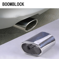 1pcs High quality Stainless Steel Car Exhaust Muffler Tip Pipes Cover for BMW E90 E91 E92 E93 318i 318d Accessories