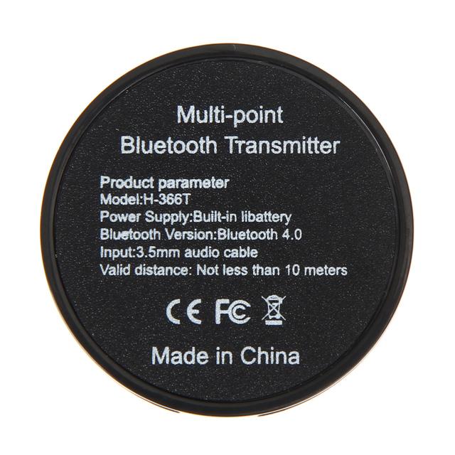 Wireless Audio Bluetooth Transmitter Music Stereo Dongle Adapter