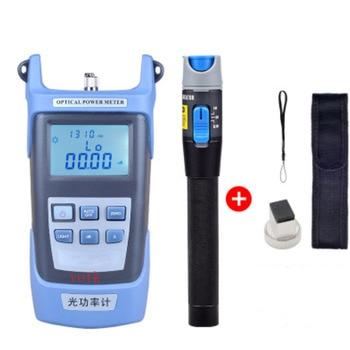 Mano medidor de potencia óptica + 1 MW láser de fibra óptica localizador Visual, láser rojo de fibra óptica Cable Tester