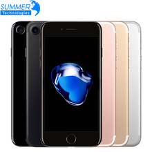 D'origine Apple iPhone 7 2 GB RAM 32/128 GB/256 GB ROM IOS 10 Quad-Core 4G LTE 12.0MP utilisé iphone7 Apple D'empreintes Digitales touch ID