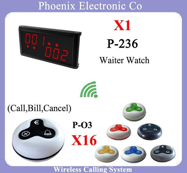 Беспроводная Кнопка Звонка для Сервировки стола и Пейджер Приемник Дисплей Показывает Номер Вызова для Простой Очереди Беспроводная Система Вызова