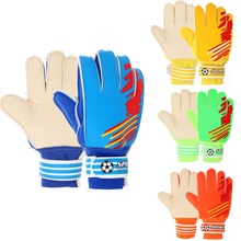 Новое поступление Детские Молодежные спортивные футбольные футбольный голкиперский Вратарские тренировочные перчатки Экипировка футбольные Игровые перчатки