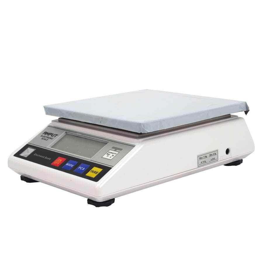 8pc/lot 7.5kg x 0.1g Digital Precision Electronic Industrial Weighing Balance,High Precision Digital Weighing Lab Scale LCD