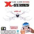 Mais novo MJX X400-V2 RC Quadcopter rc Drones 2.4G Helicópteros com/sem C4005 WIFI FPV HD Camera VS X600 x5sw