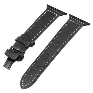 Image 2 - iWonow Leather Watchband for iWatch Apple Watch 38mm 40mm 42mm 44mm Series 5 4 3 2 1 Men Women Band Sports Strap Wrist Bracelet