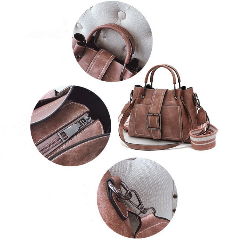 New European and American style vintage PU women handbag shoulder bag messenger bag 71