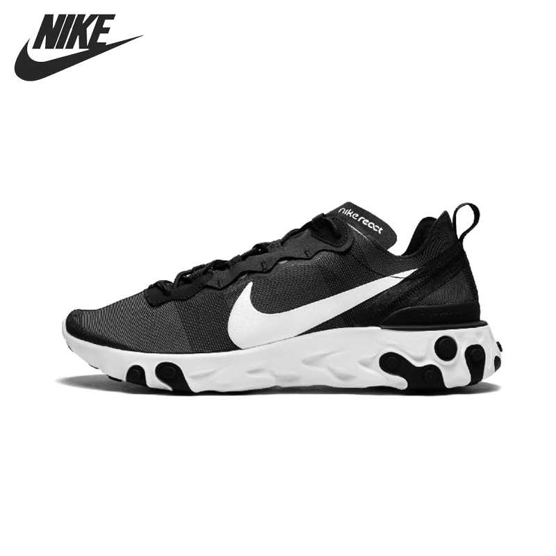 Hermana Subjetivo Hizo un contrato  Original New Arrival NIKE REACT ELEMENT 55 Men's Running Shoes  Sneakers|Running Shoes| - AliExpress