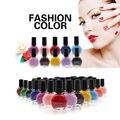 26 Цветов Pro Штамповка Nail Art Польский Маникюр Печать Лак Для Ногтей 10 МЛ Макияж
