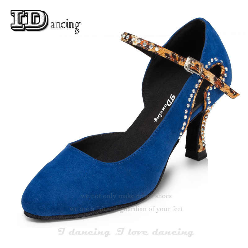 Latin Dance Shoes Women Ballroom Dance Shoes Diamond Ladies Shoes Female Salsa Shoes Cheap Tango Hot Sale JuseDanc