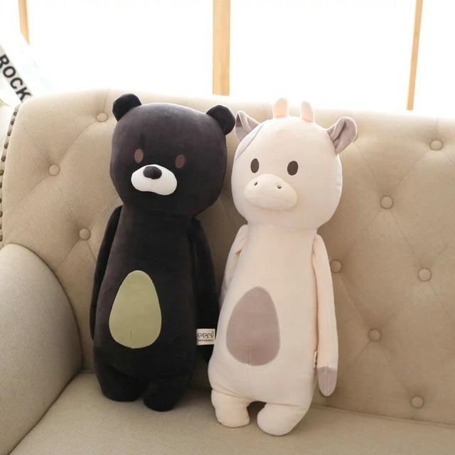 50cm Cow Rabbit Bear Dog Doll Cute Small Animals Plush Toys Sleep