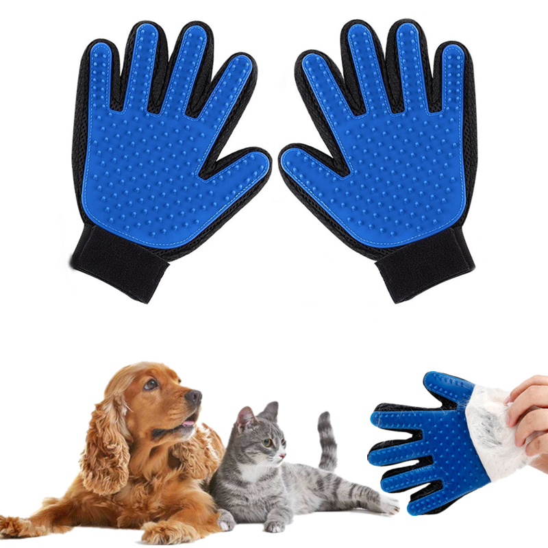 <font><b>Pet</b></font> Dog <font><b>Hair</b></font> Brush Comb <font><b>Glove</b></font> For <font><b>Pet</b></font> Cleaning Massage Deshedding Cat <font><b>Hair</b></font> <font><b>Removal</b></font> Brush <font><b>Glove</b></font> <font><b>Pet</b></font> <font><b>Grooming</b></font> Supply 2 Styles
