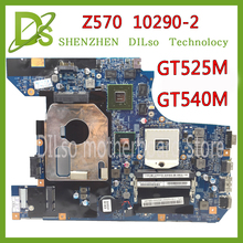 KEFU 10290-2 48.4PA01.021 LZ57 MB original материнская плата для lenovo Z570 Материнская плата ноутбука Z570 материнской GT540M/GT525M Тесты