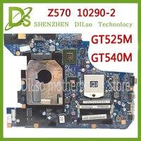 KEFU 10290 2 LZ57 MB original motherboard for Lenovo Z570 Laptop motherboard Z570 motherboard GT540M/GT525M Test