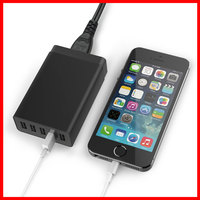 40W 5V 8A 5 Ports Quick USB Charger For IPhone 6 6S Plus 5 5S For