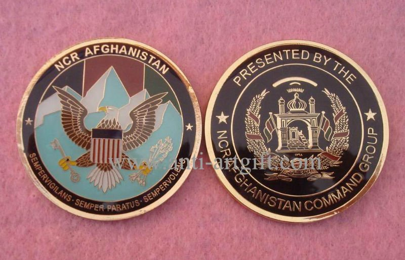 Пользовательский дизайн золотые монеты Большая печать США для спортивного клуба Нет MOQ