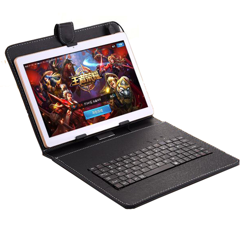 iBOPAIDA 9.7 Android 6.0 Tablet PC 16G Quad Core GMS SIM CARD WCDMA IPS screen GPS w/ 10 Inch Keyboard huawei mt1 u06 quad core android 4 1 wcdma phone w 6 1 capacitive screen wi fi and gps black