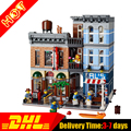 LELE 30008 LEPIN 15011 Calle Creador del Detective Oficina Casa Modelo Building Blocks Set Comapatible con 10246
