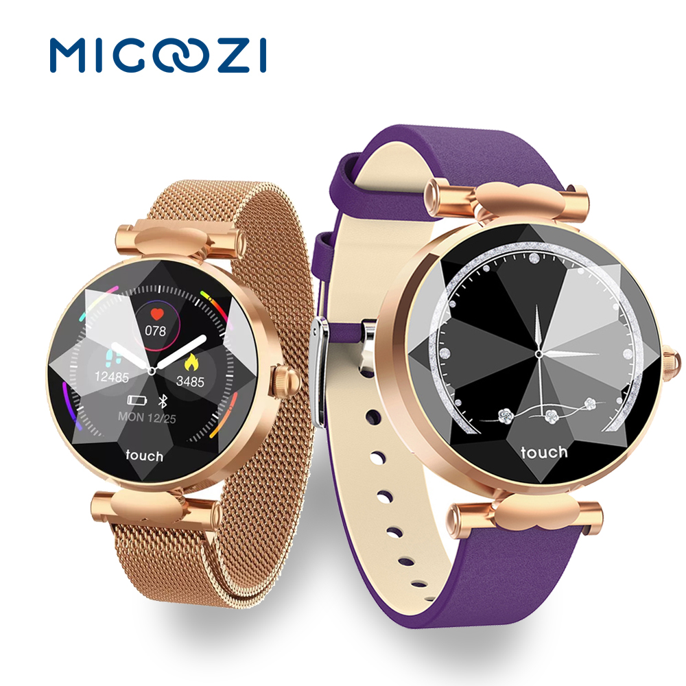 Women Smartwatch B80 Heart Rate Monitor Blood Pressure Fitness Activity Tracker Band Female Fashion Watches