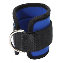 20 Pack Ankle Strap D-ring Sport Gym Fitness Attachment Thigh Leg Pulley Weight Lifting Blue Black