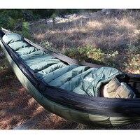 OneTigris военный Мумия спальный мешок 10 ~ 5C Портативный Сверхлегкий одиночный спальный мешок для взрослых джунгли Выживание Кемпинг Туризм