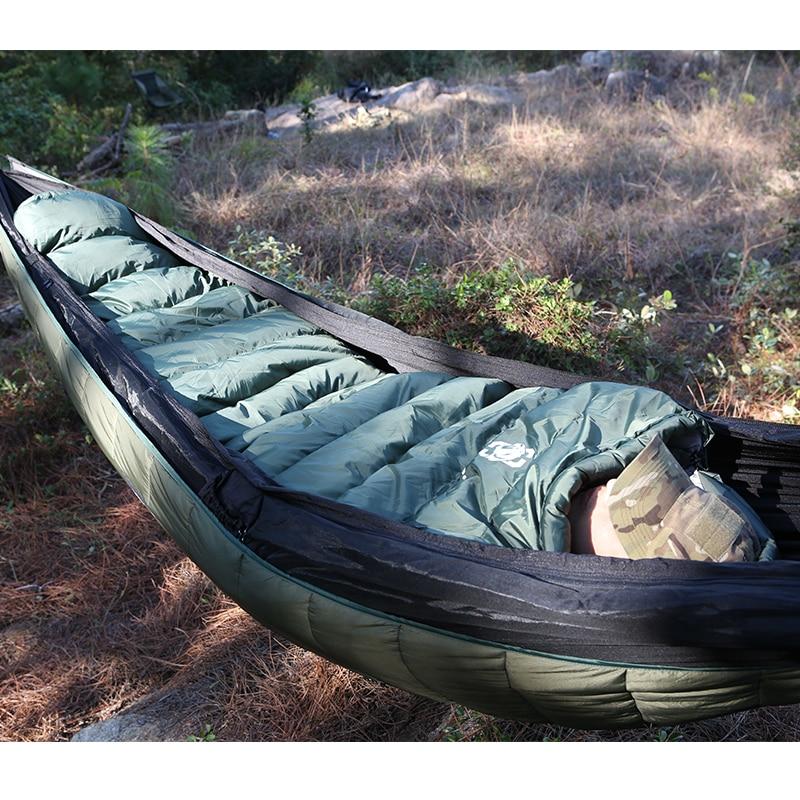 OneTigris Военная Униформа Мумия спальный мешок-10 ~ 5C Портативный сверхлегкий одного сна мешок для взрослых джунгли выживания кемпинг Пеший Туризм