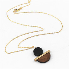 Women's Geometric Shape Pendant