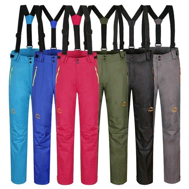 Женщины мужчины рыбалка отдых туризм софтшелл брюки открытый руно катание на лыжах брюки водонепроницаемый ветрозащитный толстыми
