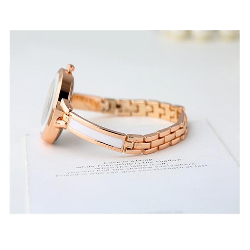 Brand Luxury Crystal Rose Gold Watches Women Fashion Bracelet Quartz Watch Women Dress Watch Relogio Feminino orologio donna 6