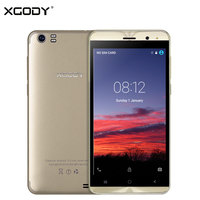 XGODY X22 3G Unlock Dual Sim Card Touch Mobile Phone MT6580M Quad Core 1G 8G Smartphone