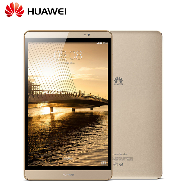 Huawei m2-801w tablet pc hisillicon кирин 930 окта основные 3 ГБ Ram 16/32 ГБ Rom 8 дюймов 1920*1200 IPS Android 5.1 Bluetooth wi-fi/LTE