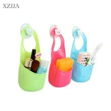 Sponge storage rack basket wash cloth/Toilet soap shelf Organizer  Kitchen Hanging Drain Bag Basket  Accessories Storage Tools